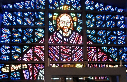 Christ figure - Buckfast Abbey