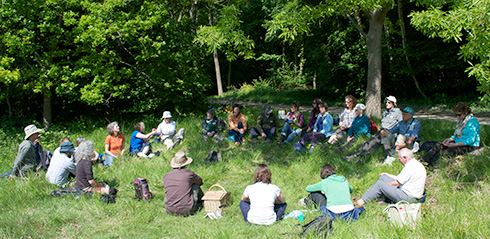 Oxford Deepening Nature Connection retreat
